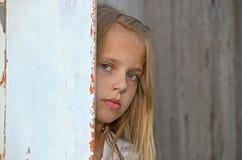 Chica joven seria Imágenes de archivo libres de regalías