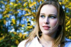 Chica joven Serie Fotos de archivo