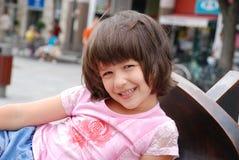 Chica joven sonriente Fotografía de archivo