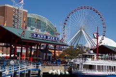 Chicaco Navy Pier Stock Photo