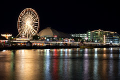 Chicaco Navy Pier Royalty Free Stock Image