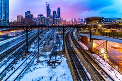 chicago стоковое изображение rf
