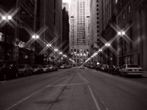 chicago śródmieście fotografia stock