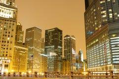 chicago śródmieście Obraz Royalty Free