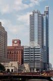 chicago śródmieście Obrazy Royalty Free