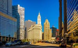 chicago городской стоковая фотография