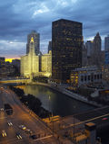 chicago США Стоковое Изображение