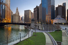 Chicago. Photos libres de droits