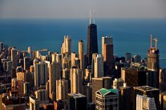 chicago Royaltyfria Foton