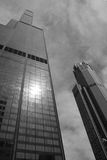 Chicago. High-rises including the Sears Tower Royalty Free Stock Image
