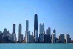 горизонт chicago Стоковое Изображение