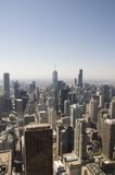 Chicago From Above Royalty Free Stock Photo