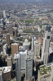 Chicago From Above Royalty Free Stock Image