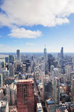 Chicago aerial Stock Photography