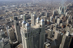 Chicago Aerial Royalty Free Stock Images