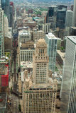 Chicago. Aerial view of Chicago downtown. Stock Photography