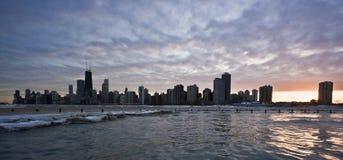 chicago afton arkivbilder