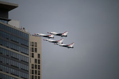 The Chicago Air and Water Show Royalty Free Stock Image