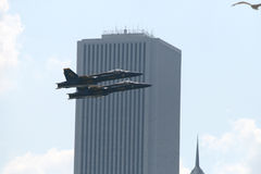 He Chicago Air and Water Show Royalty Free Stock Images