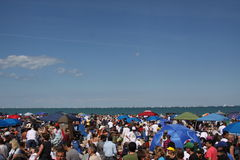 Chicago Air & Water show Royalty Free Stock Images