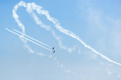 Chicago Air and Water Show Royalty Free Stock Images