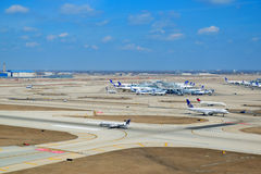 Chicago Airport Exterior Royalty Free Stock Images