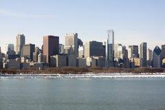 Chicago al giorno Fotografie Stock