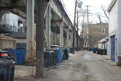 Chicago Alley Royalty Free Stock Photography
