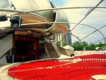 Chicago Amphitheater Royalty Free Stock Photography