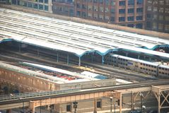 Chicago-Anschluss-Station Stockfotos