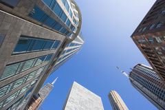 Chicago - Ansicht von der Straße Lizenzfreies Stockfoto
