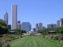 chicago anslags- park arkivfoton