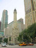 Chicago-Antenne Stockfotografie