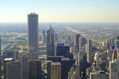 Chicago,AON Center Royalty Free Stock Photo