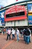 Chicago Cubs 2013 home opener Stock Image