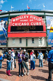 Chicago Cubs 2013 home opener Royalty Free Stock Images