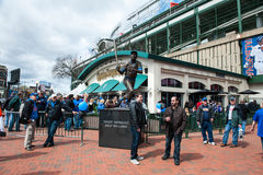 Chicago Cubs 2013 home opener Royalty Free Stock Photos