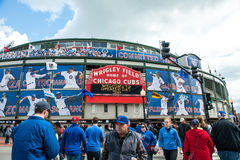 Chicago Cubs 2013 home opener Stock Images