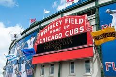 Het huisopener van Chicago Cubs 2013 Stock Afbeelding