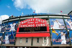 Het huisopener van Chicago Cubs 2013 Stock Afbeeldingen