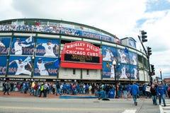 Apri della casa di Chicago Cubs 2013 Fotografia Stock Libera da Diritti