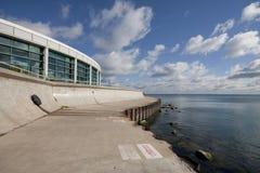 Chicago Aquarium Walk. On Lake Michigan Royalty Free Stock Image