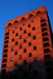 Chicago Architect at Dusk. Condominium building in downtown Chicago at dusk Stock Photo