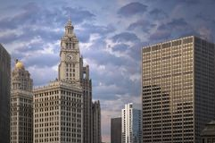Chicago architecture Royalty Free Stock Photo