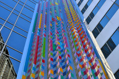 Chicago architecture. Chicago downtown modern architecture detail royalty free stock images