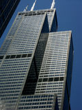 Chicago architecture. Details of a building in Chicago Royalty Free Stock Photography
