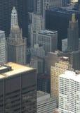Chicago architecture closeup Stock Photo