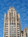 Chicago Architecture, Gothic Revival Tribune Tower stock images