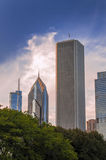 Chicago architecture Royalty Free Stock Images