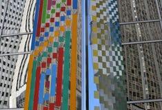 Chicago arkitektur Fotografering för Bildbyråer